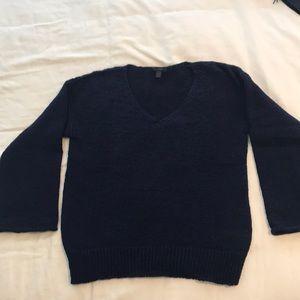 Navy J. Crew sweater size L